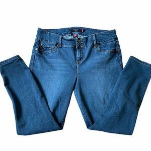 Torrid Blue Skinny Jeans - Size 18